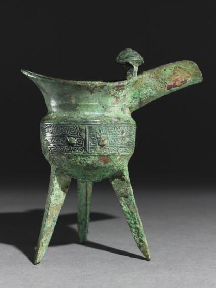 Ritual wine vessel, or jue