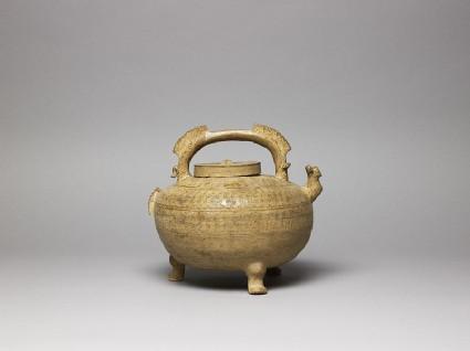 Greenware water vessel, or he