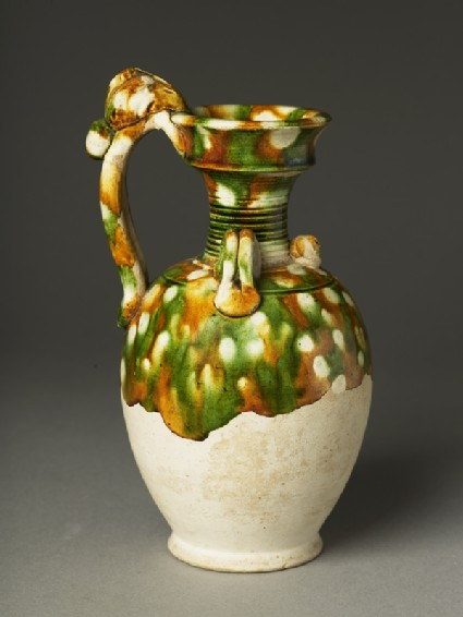 Ewer with dragon handle
