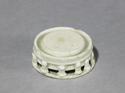 White ware inkstone with taotie masks