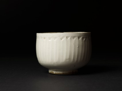 White ware bowl with straight sides