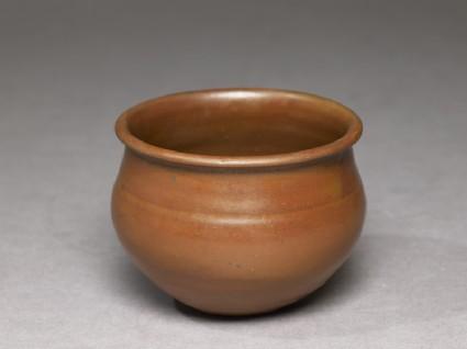 Ding type jar with russet iron glaze