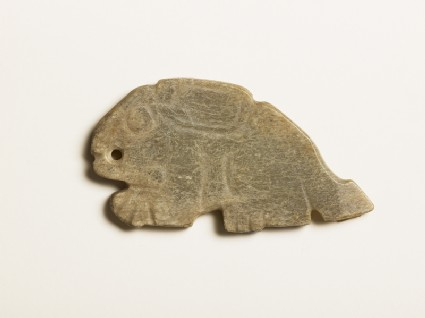 Pendant in the form of a hare