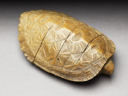 Inrō in the form of a turtle