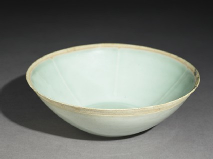 White ware bowl with fish