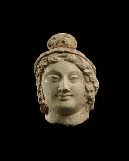 Small head of a bodhisattva