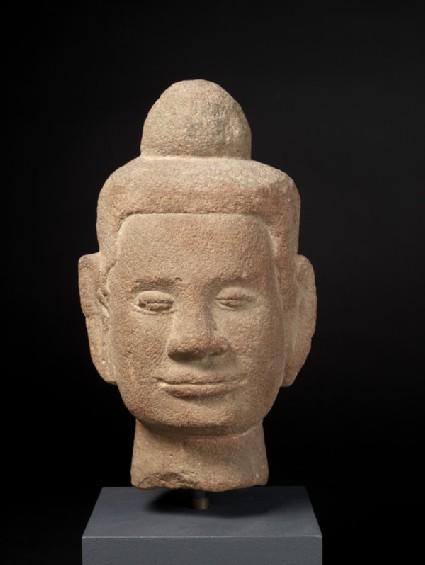 Sculpture of Shakyamuni as ascetic