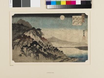 Autumn Moon at Ishiyama