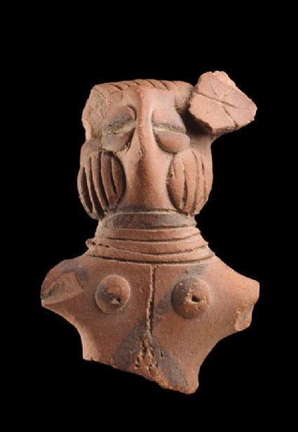 Torso of a female figure