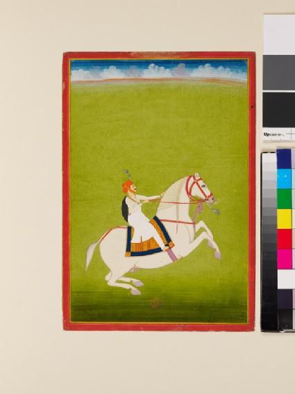 Mounted Rajput