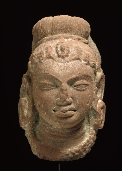 Female head with headdress