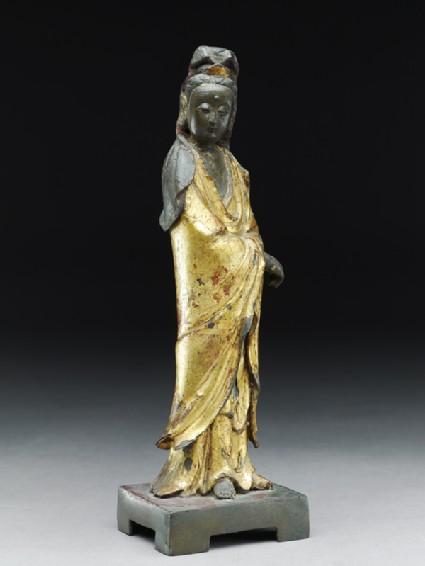 Standing figure of the bodhisattva Guanyin