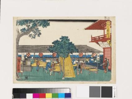 Atago Shrine, Edo Bay
