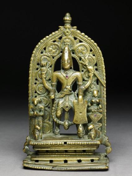 Figure of Shiva as Virabhadra