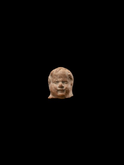 Head of the figure of a child