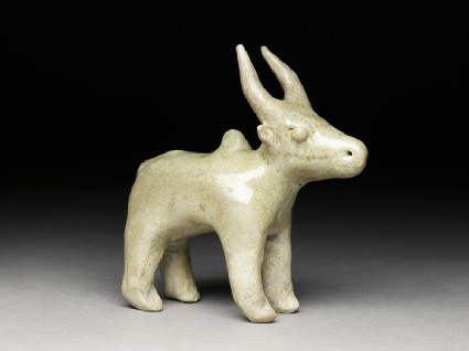 Figure of a humped cow