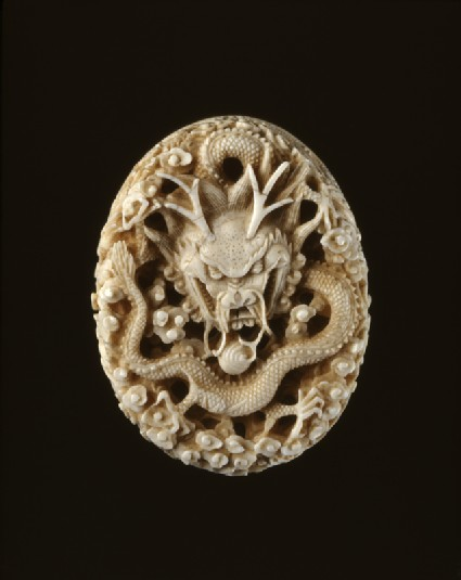 Ivory seal with dragon