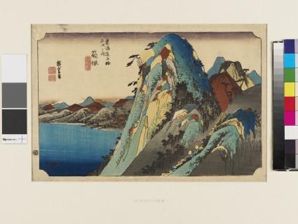 View of the Lake at Hakone