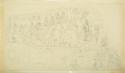 The Kiratarjuniya panel at Mamallapuram