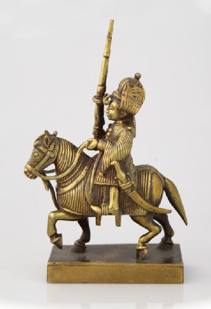 Figure on a horse