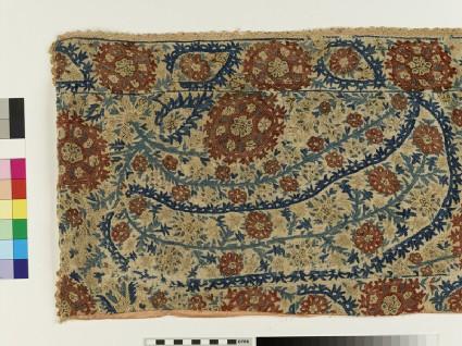 Bedspread fragment