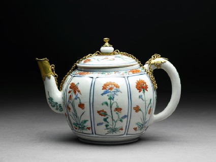 Teapot with European mounts