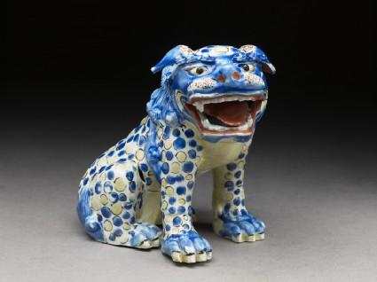 Figure of a shishi, or lion dog