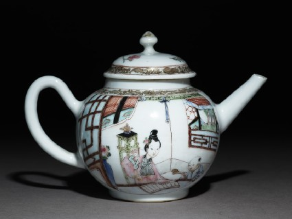 Tea pot and cover
