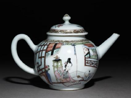 Tea pot and cover