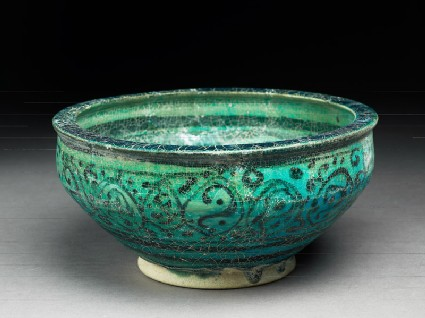 Bowl with floral decoration