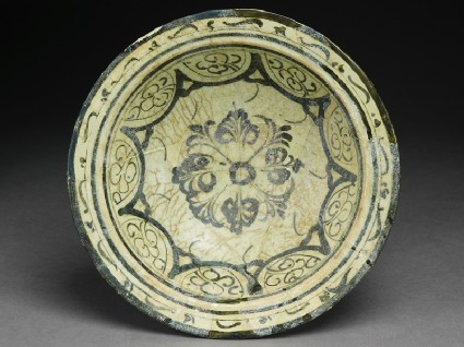 Bowl with floral patterning