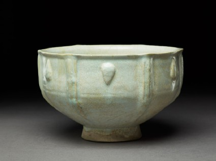 Bowl with moulded decoration