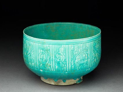 Bowl with pseudo-inscription