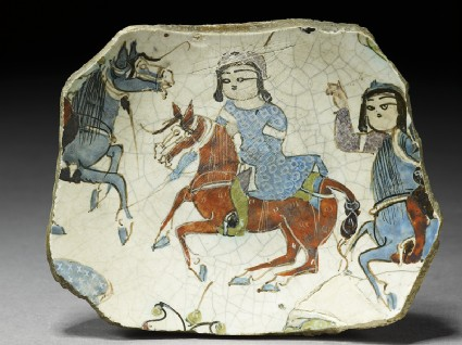 Fragment of a bowl with riders