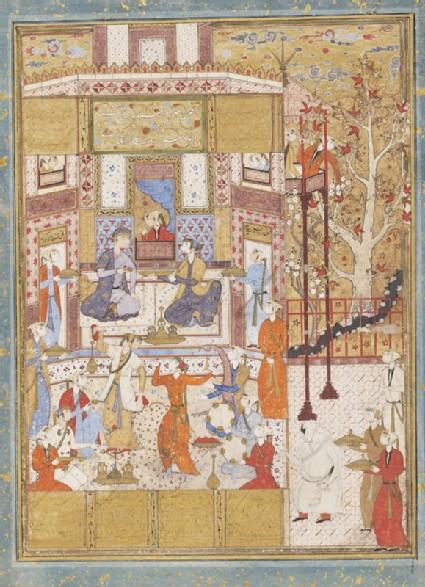 Bahram Gur in the Green Pavillion