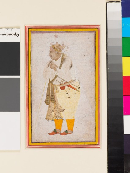 Portrait of a man, possibly Raja Man Singh