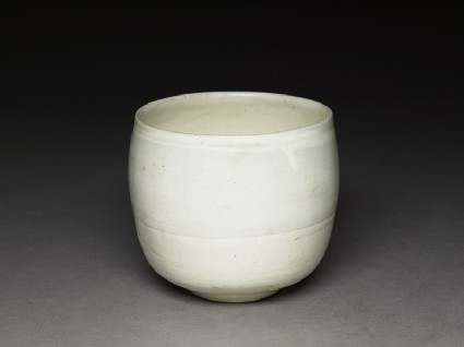 Cizhou type jar with white slip