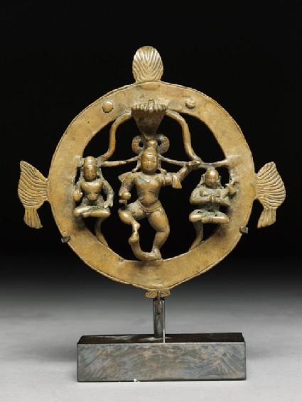 Figure of Krishna Kaliyadamana, tamer of Kaliya