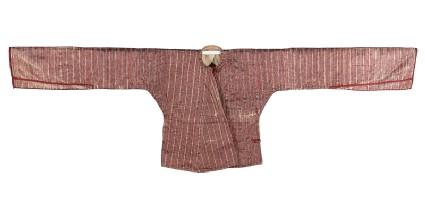 Striped mashru jacket