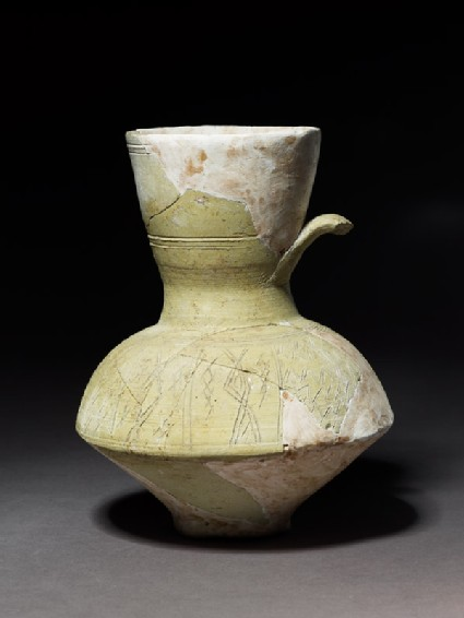 Jug with incised decoration