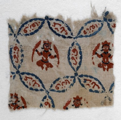 Textile fragment with Jupiter in Pisces or Mercury in Virgo