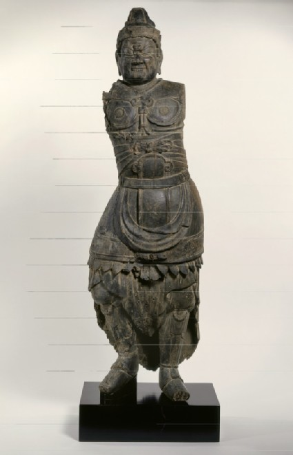 Figure of a Shi-Tennō, a Guardian King of the Four Corners