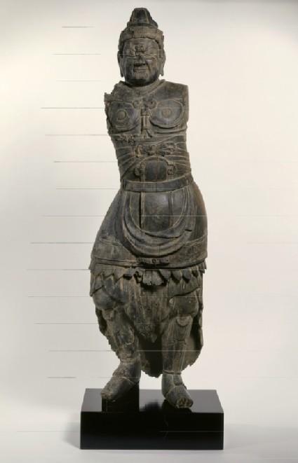 Figure of a Shi-Tennō, a Guardian King of the Four Corners