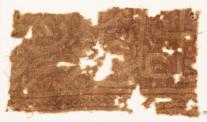 Textile fragment with script