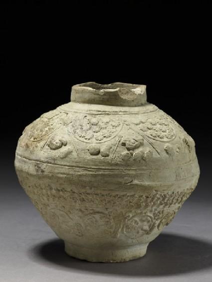 Jar with animal and vegetal decoration