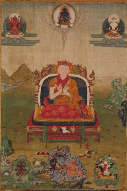 The 10th shamarpa lama