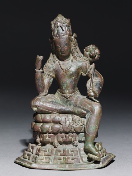 Seated figure of Padmapani