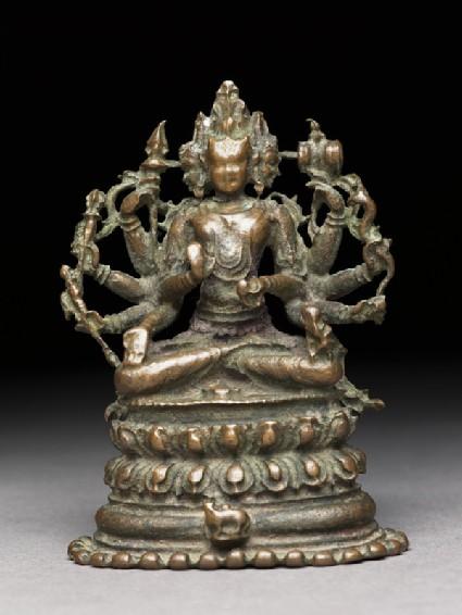 Figure of Sadashiva, the Eternal Shiva