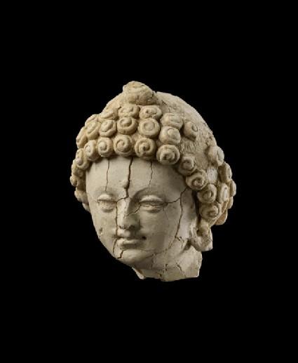 Head of the Buddha or a Bodhisattva