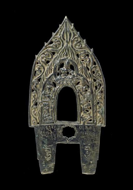 Prabha, or backplate to a Buddhist image